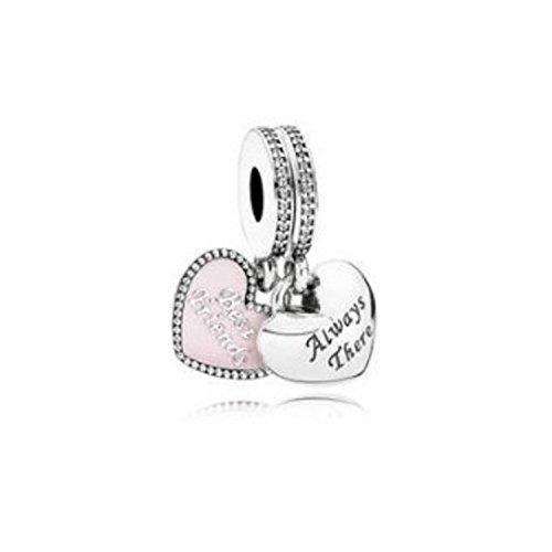 Pandora 791950cz - charm da donna, in argento 925, con zirconi bianchi