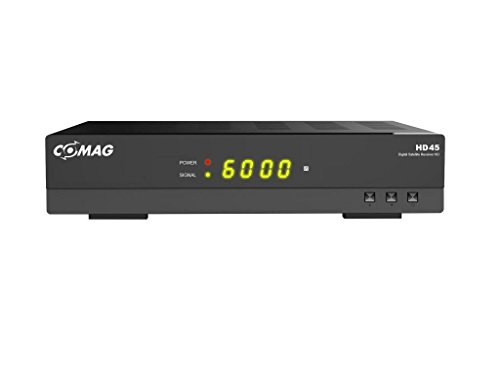 COMAG HD45 Digitaler HD Sat Receiver (Full HD, HDTV, DVB-S2, HDMI, SCART, PVR-Ready, USB 2.0) schwarz