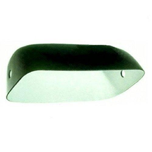 s Lampe Ersatz Glas Schatten (Verkleidet grün) ()