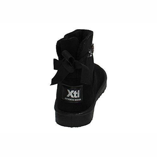 XTI , Bottines Classiques  femme Noir