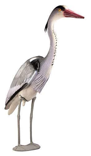 mgc24® Fischreiher Kalle - Gartendeko Tierfigur Teichfigur Reiherschreck Vogelabwehr