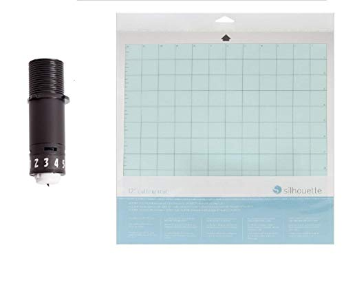 Silhouette Ersatzklinge mit 30,5 x 30,5 cm Schneidematte Combo Pack