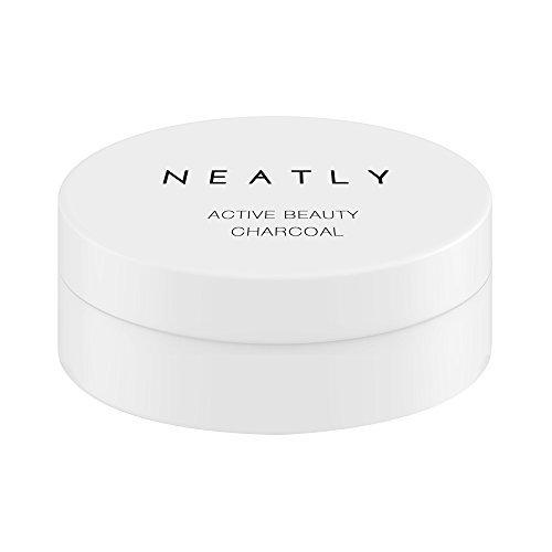 Aktivkohle Pulver Activated Charcoal Allrounder von NEATLY | Natürliches effektive Zahnaufhellung | Anti Pickel Aktivkohle Maske | Detox Bad