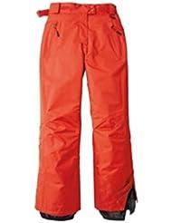 Pantalón de esquí para mujer, mujer, color Rojo - rojo, tamaño 44 [DE 42]