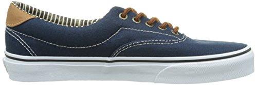 Vans Authentic, Sneakers Basses Mixte Adulte Bleu (C L/Drs Bls/St)