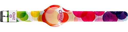 Orologio digitale ZITTO con cinturino in silicone multicolor NEONBUBBLES-MINI-FB