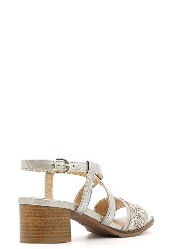 Igi&Co 5821 Sandalo tacco Donna Platino