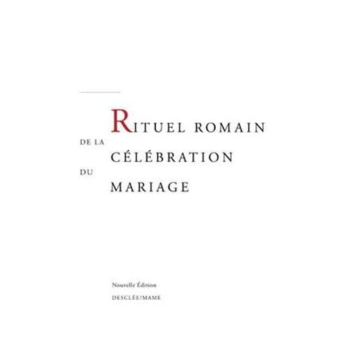 Rituel romain de la célébration du mariage