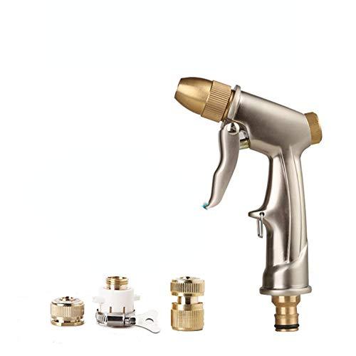 Pistola per acqua per autolavaggio Telescopica Pistola per acqua a spruzzo ad alta pressione Pistola per acqua a spruzzo per uso domestico Tuta portatile Spazzola per auto Lavatrice Pistola ad acqua