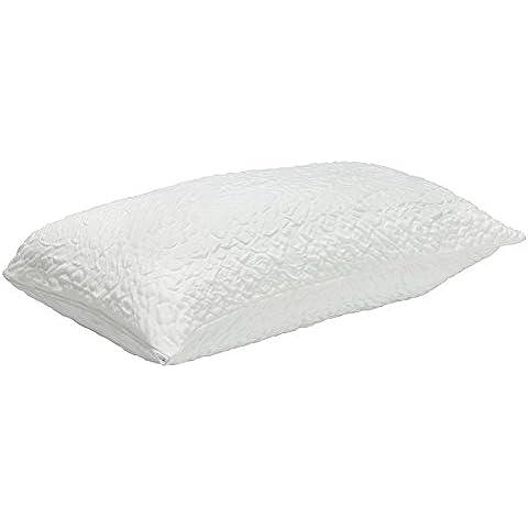 Pikolin Home Antiácaros - Funda almohada, bielástica, 90 x 40 x 0,2 cm, color blanco