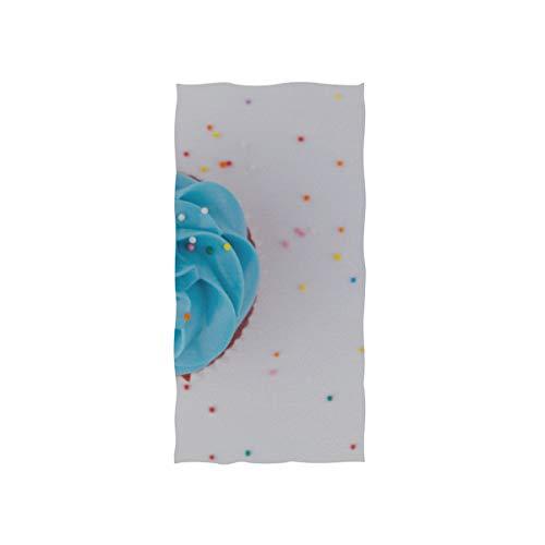 Enhusk Appetite Cupcake Bake Süßes Essen Soft Spa Strandtuch Badetuch Fingerspitze Handtuch Waschlappen Für Baby Erwachsene Badezimmer Strand Dusche Wrap Hotel Travel Gym Sport 30x15 Zoll
