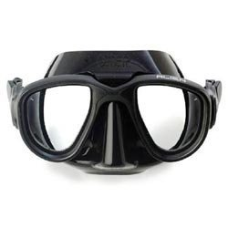 OmerSub Alien Spearfishing & Diving Mask. - All Black by Omer