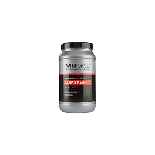 Getränk Energieeffizienz Carbo Basic Plus von Winforce 800 g Zitrone - Kohlenhydrat Shake