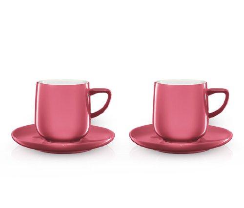 Tchibo Espresso Tassen 2er Set in pink designed by Conran