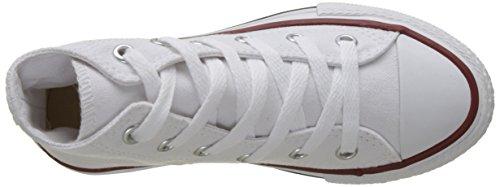 Converse Ctas Core Hi 015860-34-3 Sneaker, Unisex bambini Bianco (Blanc Optical)
