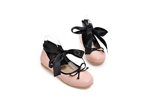 Beauqueen Pompe delle donne di estate e piatto aerobici scarpe leopardo Croce cinghie femminile rosa neri Pattini casuali FORMATO 32-48 leopard