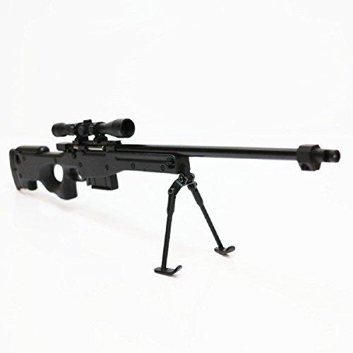 Army Force nicht-Funktions-Spielzeug-Abbildung Dummy-Modell-Installationssatz 1: 6 L96 Schwarzes