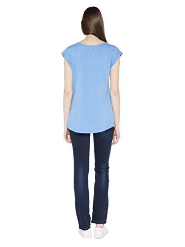 Colorado Denim Sheila, T-Shirt Donna Blau (INDIGO LIGHT 6080)