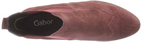 Gabor Damen Fashion Chelsea Boots Rot (Wine (Sohle fumo) 15)