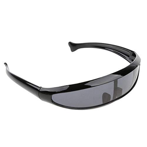 D DOLITY Herren verspiegelt Sonnenbrille Brille mit UV-Schutz Sportbrille Schutzbrille Arbeitsbrille für Skifahren Golf Radsport Angeln Fahren - 06