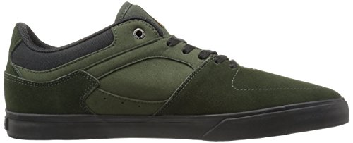 Emerica the Hsu Low Vulc, Scarpe da Skateboard Uomo Green/black