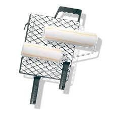 PROFI PRODUKT, 3-tlg. Farb-Roller-Set Anti-Spritz-Roller-Set 3 tlg Kleister -Roller Farb-Roller, 86953250
