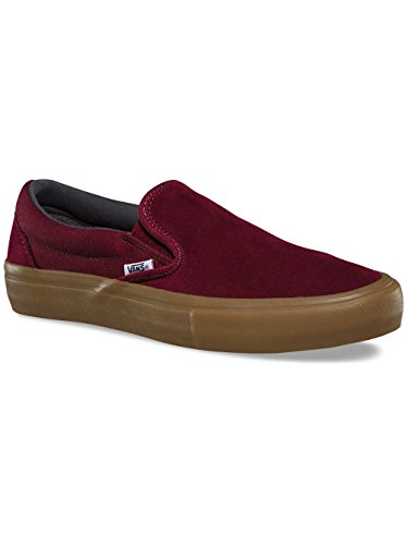 Vans Pro Skate Skate Shoes - Vans Pro Skate Slip-On Pro Shoes - Black/Bronze port royal/gum