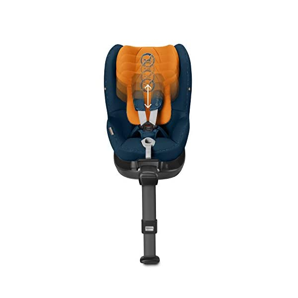 CYBEX Gold Sirona M2 i-Size Car Seat, Incl. Base M, Incl. SensorSafe chest clip, From Birth to approx. 4 years, Up to Max. 105 cm Height, Premium Black  Cybex gold car seat sirona m2 i-size incl. sensorsafe incl. base m Item number: 519001843 Colour: premium black 7