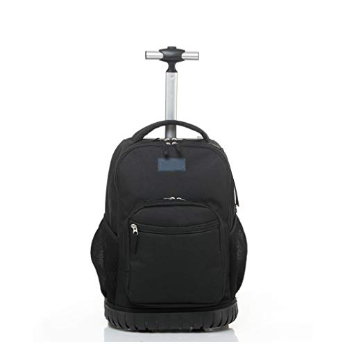 C-Xka Studenti di zaino a rotelle multifunzionali del computer portatile del libro di viaggio della scuola di bagagli dell'armatura di rotolamento dello zaino