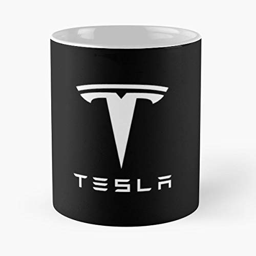 Tesla Motors Company Elon Musk Inc Jb Straubel Electric Car Marc Best 11 oz Kaffee-Becher - Tasse Kaffee Motive