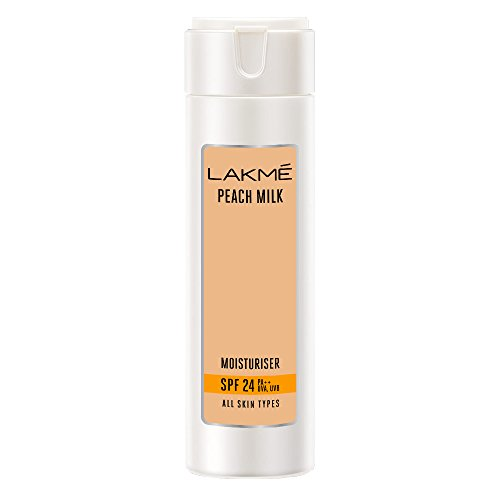 Lakme Peach Milk SPF 24 PA Sunscreen Moisturiser, 200 ml
