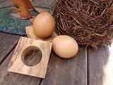 D.O.M. Die Olivenholz Manufaktur D.O.M. Support pour œufs troué en Bois d'olivier