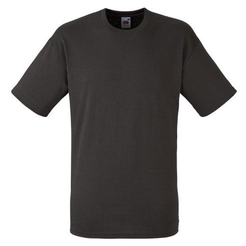 fruit-of-the-loom-maglietta-100-cotone-uomo-s-carbone