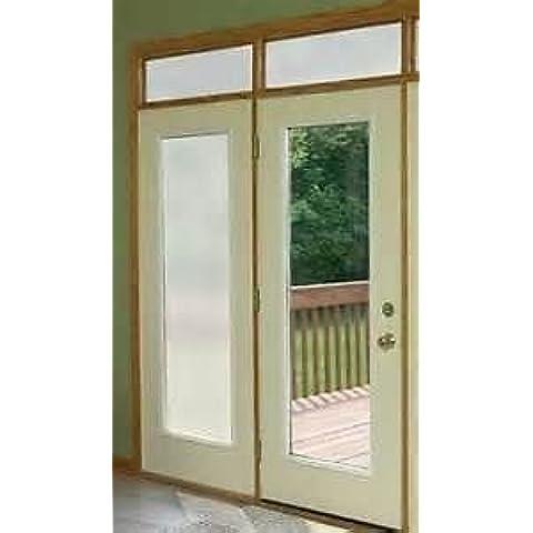 Privacy-Pellicola decorativa per vetro, per ante in