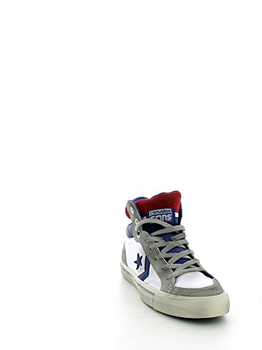 Pro Blaze Hi Leather Bianco/Blu