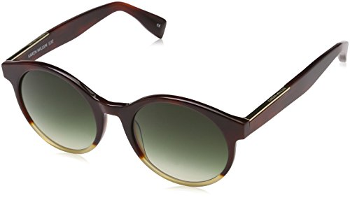 KAREN MILLEN KM5017 Sonnenbrille, Braun (Tortoiseshell), 53