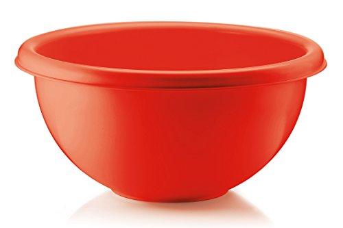 Guzzini Formes Home 86031-31 Bol à Salade, Rouge, en Plastique, diamètre 30 cm