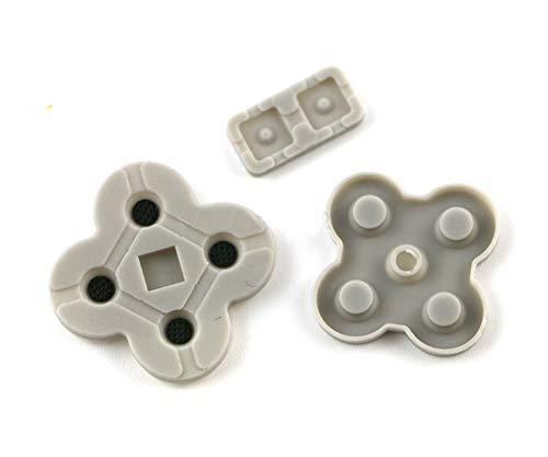 2er-Set leitfähige Tasten aus Gummi für NDSL Nintendo DS Lite Spiele-Reparatur RL LR L R Links rechts