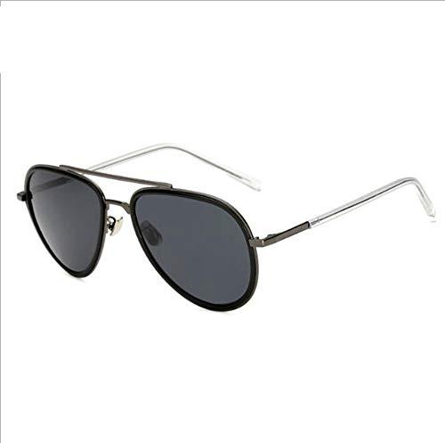 GFLD Sonnenbrille Herren Herrenmode-Sonnenbrille, perfekte Kombination aus Metall und Kunststoff, polarisierte Sonnenbrille