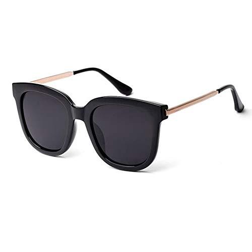 ATR Big Box Sonnenbrillen männlich/weiblich polarisiertes Licht Retro-Laufwerk rundes Gesicht kann mit Myopie-Brille ausgestattet Werden (Farbe: 1)