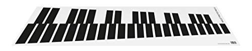 Mallet Practice Pad 3.0 • Übematte für Marimba, Vibraphone, Xylophone • Umfang: 3 Oktaven • Zum Üben und Einspielen • Wird einfach auf Tisch oder Boden ausgerollt • Lieferung ohne Schlägel