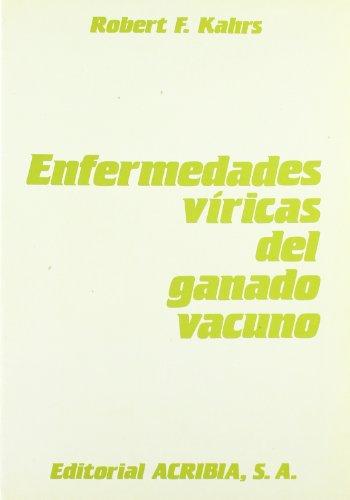 Descargar Libro Enfermedades víricas del ganado vacuno de Robert F. Kahrs
