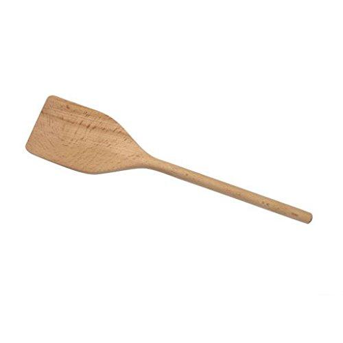 JUSTINUS Pfannenwender, Braun, 30 cm, Holz