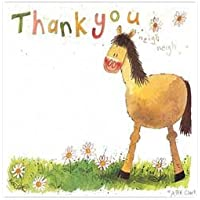 Alex Clark Pony Thank You Cards - 8 Pack