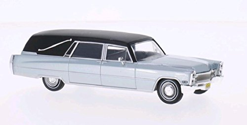 cadillac-hearse-argente-mat-noir-1966-voiture-miniature-miniature-deja-montee-whitebox-143