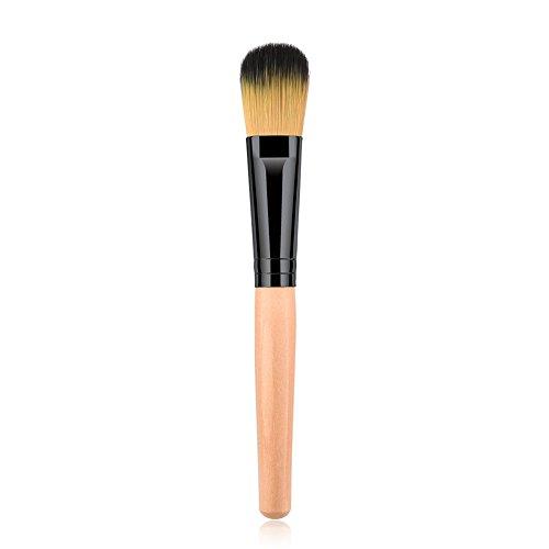 Vi.yo Pinceaux de Maquillage Cosmétique Professionnel Brosse Maquillage Cheveux synthétiques pour Les Fond et Le Concealer, Blush, 1 piecce(style 2)
