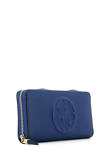 GUESS AMY LARGE ZIP AROUND ORGANIZER AMY2P6246 COBALT