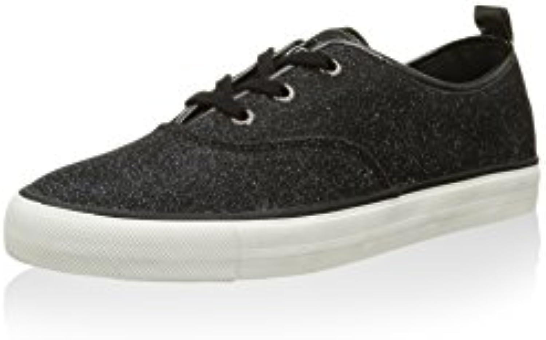 Guess Damen Sneaker Schnürschuhe Boots Schwarz 2018 Letztes Modell  Mode Schuhe Billig Online-Verkauf