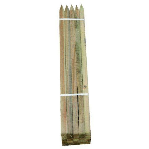 *Hartholzpfähle Robinienholz, angespitzt 1.5m, Ø 22 x 22mm (10)*