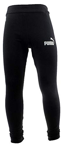 Puma Mädchen ESS Leggings G Hose, Cotton Black, 164
